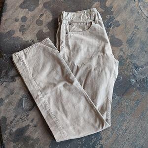 Levi's 505 Khaki Jeans Size 31 x 34